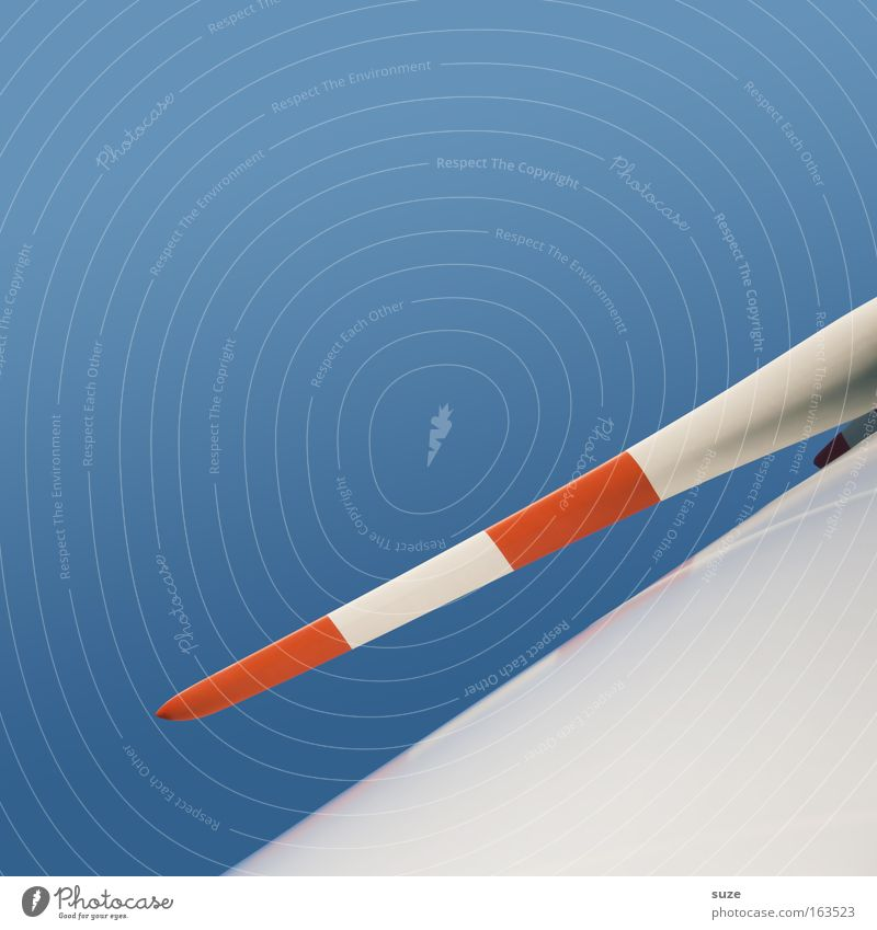 Seitenwind Himmel Natur blau weiß Umwelt Luft Wind Klima Energiewirtschaft groß Erfolg modern Zukunft Technik & Technologie Sauberkeit Wandel & Veränderung