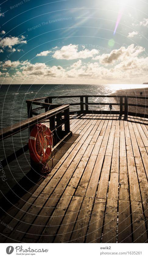 Sellin Himmel Natur Ferien & Urlaub & Reisen Wasser Landschaft Ferne Umwelt Holz Freiheit Deutschland Horizont leuchten Idylle Klima Schönes Wetter Ostsee