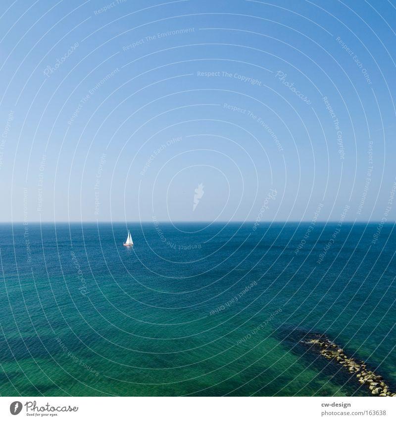 Ich bin dann mal weg Himmel Natur Wasser Ferien & Urlaub & Reisen Sommer Strand Ferne Erholung Landschaft Freiheit Wärme Küste See Ausflug Abenteuer Insel