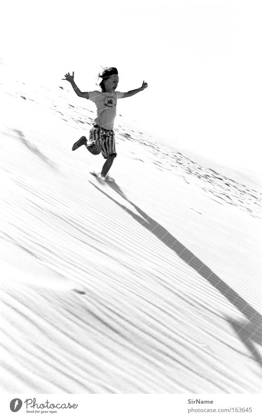 86 [YAAAWP!] Mensch Kind Jugendliche Erholung Freude Leben Bewegung Junge Freiheit Glück Sand springen Freizeit & Hobby Kindheit laufen Erfolg