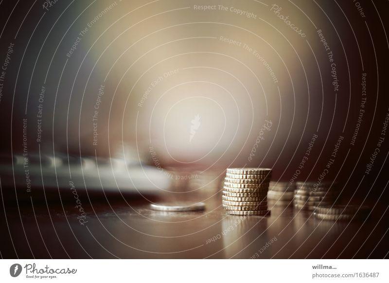 money makes the world go round Geld Geldmünzen Bargeld Finanzen Handel bezahlen kaufen sparsam Euro Cent Einkommen Einnahme EUR 50 Cent Kapitalwirtschaft