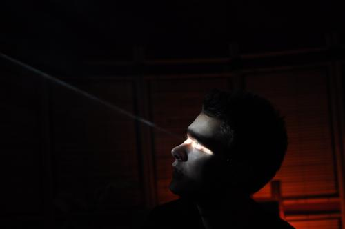X-Men Origins: Cyclops Mensch Mann Jugendliche schön Sonne Gesicht ruhig Auge Kopf Traurigkeit Kraft Erwachsene Coolness Sehnsucht Schmerz Mut