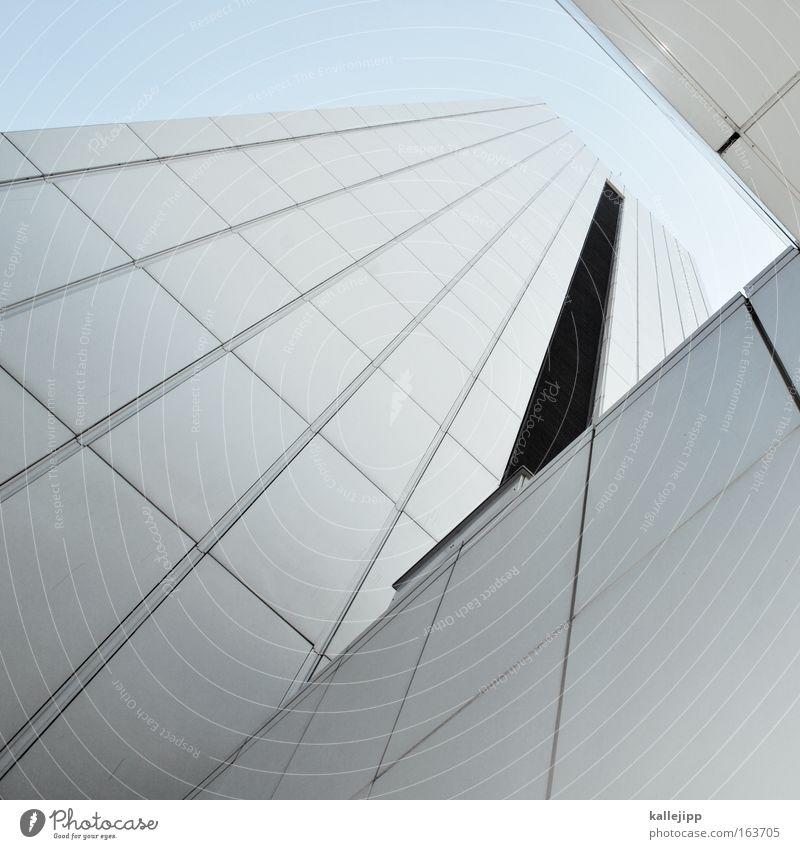 ¬ Gedeckte Farben Froschperspektive Hochhaus Bankgebäude Bauwerk Gebäude Architektur Stadt