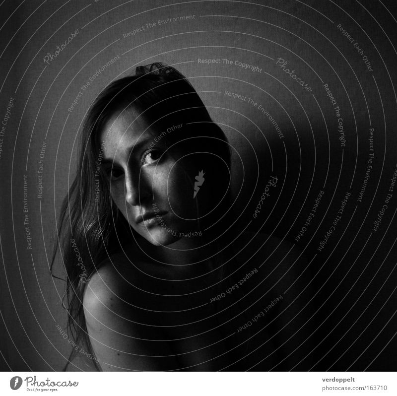 Frau Mensch Jugendliche Gesicht Erwachsene Auge feminin Gefühle Kopf Haare & Frisuren Stimmung 18-30 Jahre Junge Frau Porträt