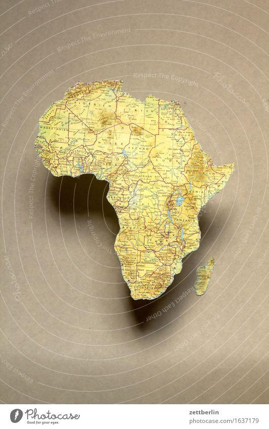 Afrika Ferien & Urlaub & Reisen Erde Textfreiraum Europa Gesellschaft (Soziologie) Globus Landkarte Politik & Staat Kontinente Globalisierung Geografie Atlas
