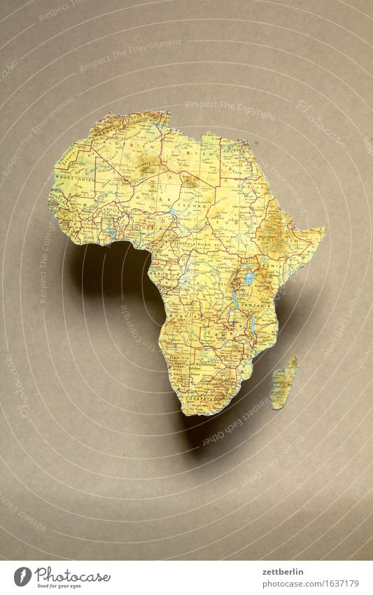 Afrika Ferien & Urlaub & Reisen Erde Textfreiraum Europa Afrika Gesellschaft (Soziologie) Globus Landkarte Politik & Staat Kontinente Globalisierung Geografie Atlas