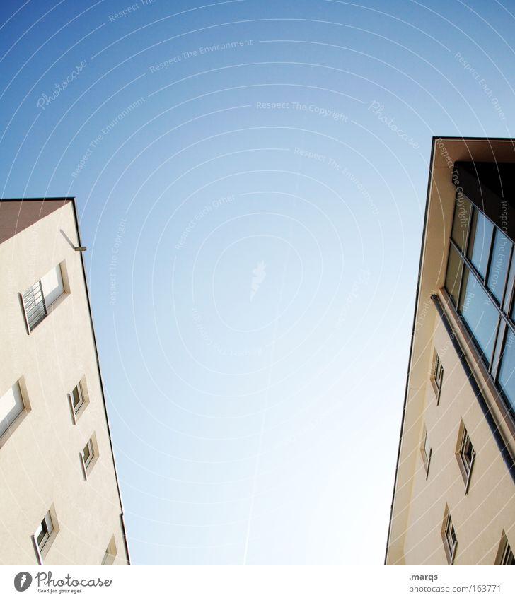 Freeman _ Porter Farbfoto Außenaufnahme Menschenleer Textfreiraum oben Textfreiraum unten Textfreiraum Mitte Wohnung Hausbau Umzug (Wohnungswechsel) Wirtschaft