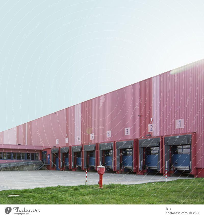 | 8 | 7 | 6 | 5 | 4 | 3 | 2 | 1 | Farbfoto Außenaufnahme Menschenleer Textfreiraum oben Tag Sonnenlicht Sonnenstrahlen Totale Fabrik Industrie Handel