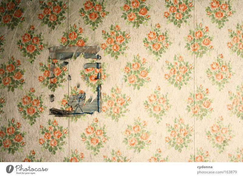 [DD|Apr|09] Künstlerpech Freude Leben Wand Mauer träumen Kindheit Zeit Wohnung Design ästhetisch planen Dekoration & Verzierung Zukunft einzigartig retro
