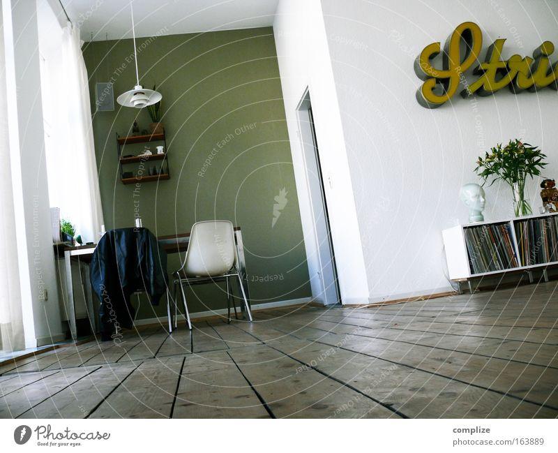 home Pflanze Lampe Wand Stil Musik Holz Mauer Raum Wohnung Kultur Design Schilder & Markierungen Tisch Lifestyle retro Kabel