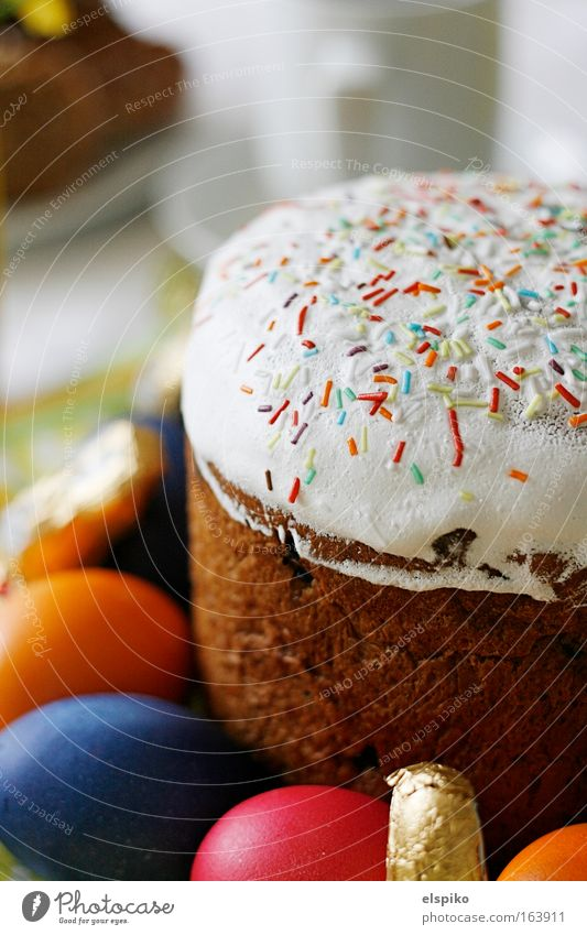 Osterzeit - Gebäckzeit Freude Lebensmittel Kuchen Süßwaren Ei Tasse Backwaren Teigwaren