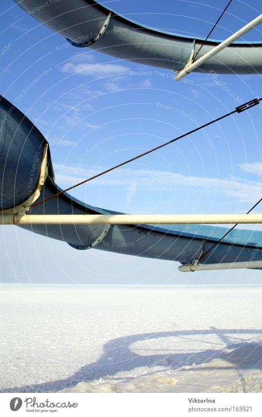 Eisrutsche IV. Himmel Wasser Ferien & Urlaub & Reisen Strand Winter Wolken Schnee Umwelt Landschaft Stil Küste See Kunst Horizont Seeufer