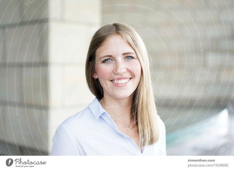 Portrait Mensch Freude sprechen feminin Lifestyle Glück Business Freundschaft Freizeit & Hobby Erfolg Perspektive Energie einzigartig Studium Hoffnung Team