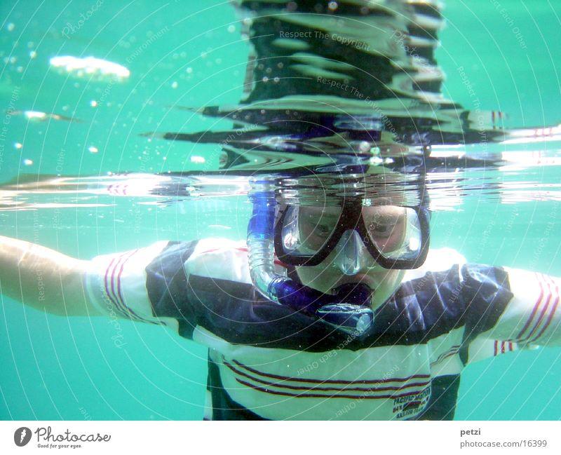 Schnorchel, Schnorchel Meer Freude Ferien & Urlaub & Reisen Sport Glück Fröhlichkeit Freizeit & Hobby Maske Lebensfreude Luftblase Tauchgerät