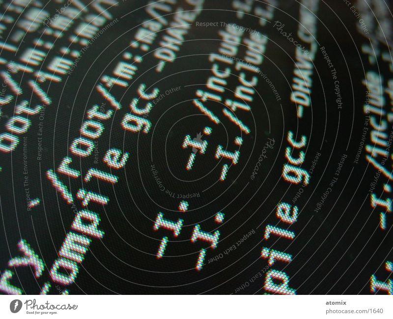 Compile Bildschirm Anzeige Kennwort Fototechnik RGB Bildpunkt