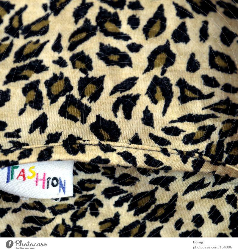 Badebuxe schön Ferien & Urlaub & Reisen gelb Mode braun Bekleidung Schwimmbad Stoff Fell Sommerurlaub Sonnenbad Unterwäsche Tarnung Badehose Leopard clubbing
