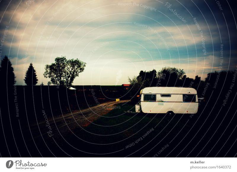 Fernweh Lifestyle Freude Traumhaus Wohnwagen Wohnmobil Verkehr Autofahren Straße Anhänger Freiheit Freizeit & Hobby Lebensfreude Ferien & Urlaub & Reisen