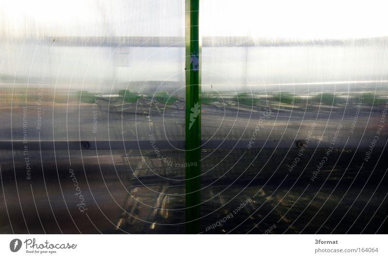 Wagenkolonne Glas warten stehen Kunststoff durchsichtig parken Parkhaus Warteschlange Kolonne Acryl