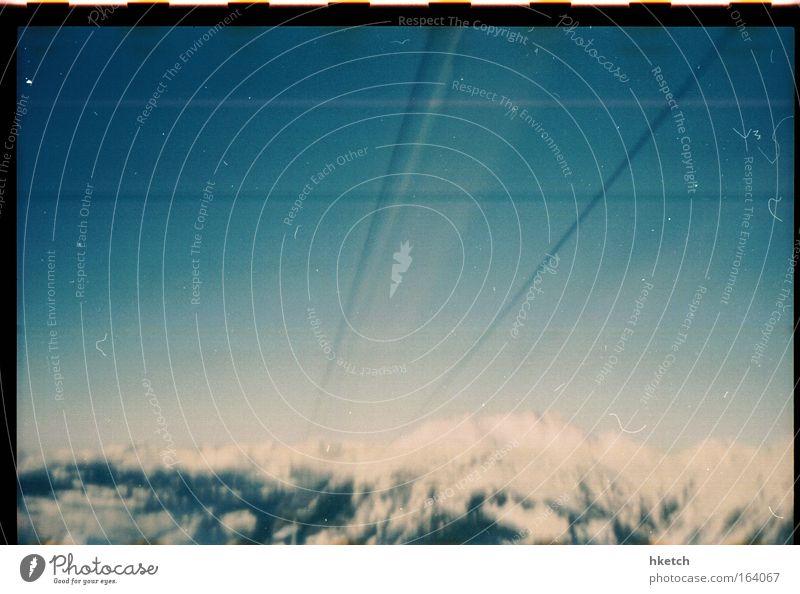 World Pinhole Photography Day Schnee Berge u. Gebirge Alpen Unendlichkeit