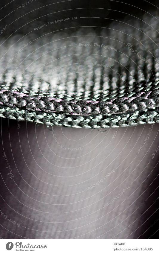 stoffffff elegant einfach Stoff silber Gurt gewebt gestrickt