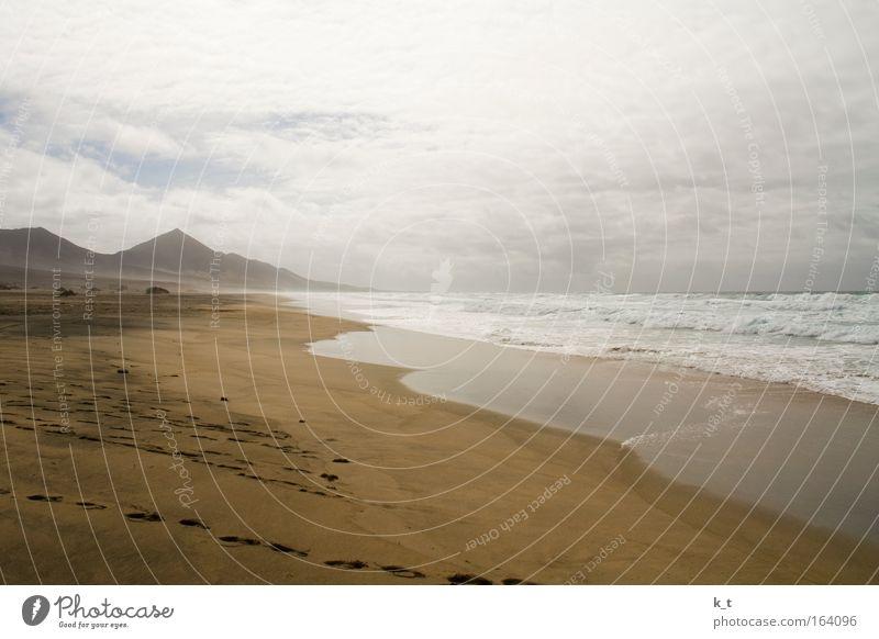 Die Wilde Westküste Natur Wasser Meer Sommer Strand Ferien & Urlaub & Reisen Wolken Ferne Erholung Berge u. Gebirge Freiheit Wärme Sand Landschaft Wellen Küste