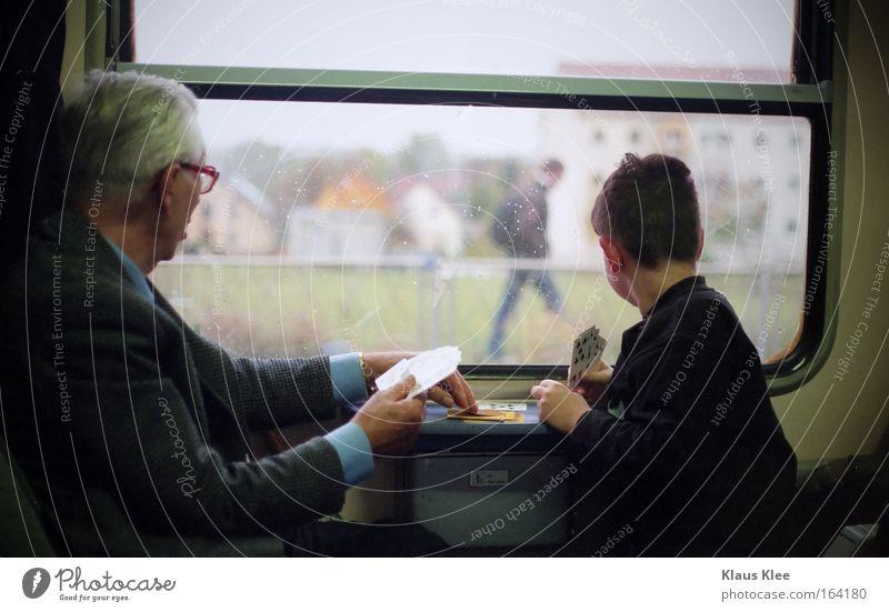 MY TRIP OVER 50 METERS :::::::. Mensch Kind Mann Eisenbahn Ferien & Urlaub & Reisen Senior Junge Spielen Glück warten lernen Güterverkehr & Logistik Tourismus