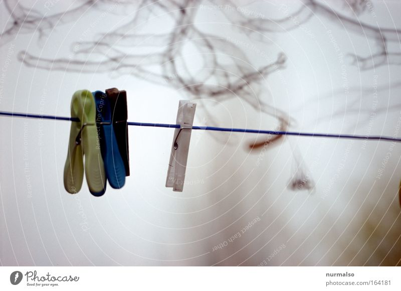 Klammern hilft nicht Himmel Haus maskulin Erfolg Seil Bekleidung verrückt Technik & Technologie Bad Küche Dekoration & Verzierung Häusliches Leben Stoff