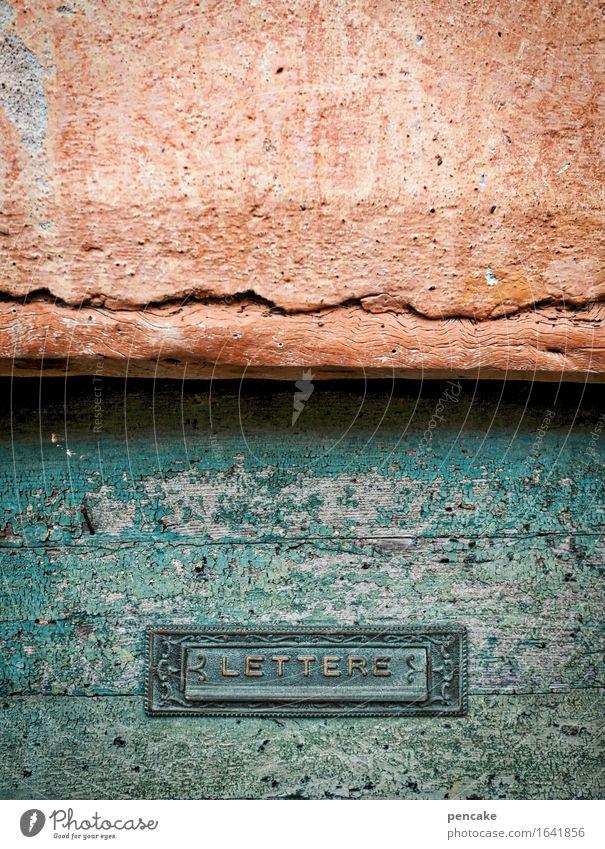 italienischer aufschnitt Ferien & Urlaub & Reisen Stadt alt schön Wand Senior Holz Mauer Tür Idylle Schilder & Markierungen ästhetisch authentisch