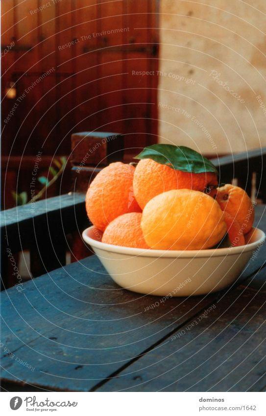 Zirangen & Otronen Ernährung Orange Schalen & Schüsseln Frucht