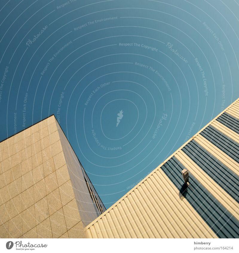 ups n downs Haus Wand Stil Mauer Kunst Arbeit & Erwerbstätigkeit Fassade Design modern außergewöhnlich Coolness Industrie Baustelle einzigartig