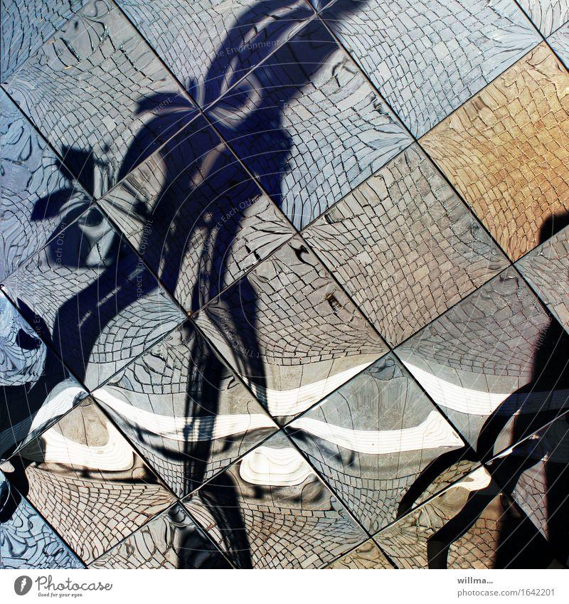 zeitsprung |tlön Spiegelfliesen Spiegelbild Fliesen u. Kacheln verrückt Surrealismus Phantasie Irritation Traumwelt Mensch Reflexion & Spiegelung Farbfoto