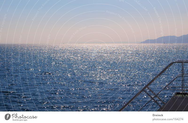 Being Sascha Hehn... Himmel Natur blau Wasser Ferien & Urlaub & Reisen Meer Erholung Wärme See Wasserfahrzeug Wetter nass Wassertropfen fahren Fluss