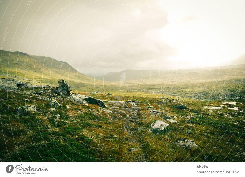 Der hohe Norden exotisch harmonisch Erholung ruhig Meditation Ferien & Urlaub & Reisen Tourismus Ausflug Abenteuer Berge u. Gebirge wandern Natur Landschaft