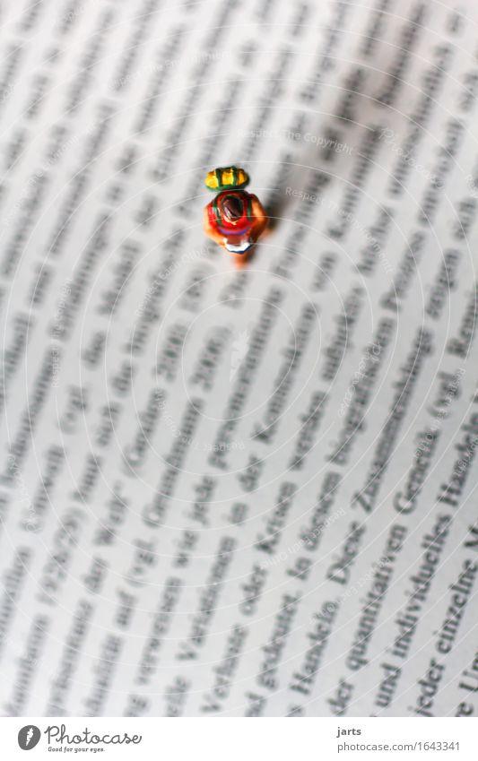 lehrgang Bildung lernen Mensch 1 gehen laufen lesen wandern Willensstärke diszipliniert Wissen Konzentration Buch Farbfoto mehrfarbig Innenaufnahme