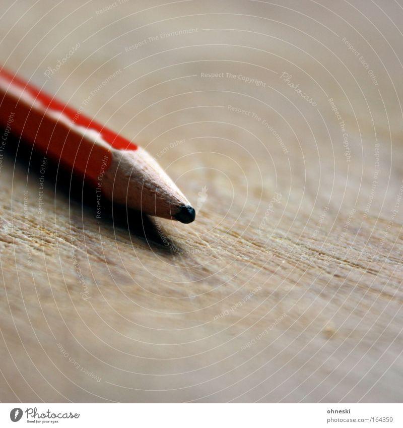 Stumpf alt Holz Arbeit & Erwerbstätigkeit lernen Studium Bildung schreiben zeichnen Zettel Basteln Bleistift Schreibwaren kennzeichnen Graphit Zeichenstift