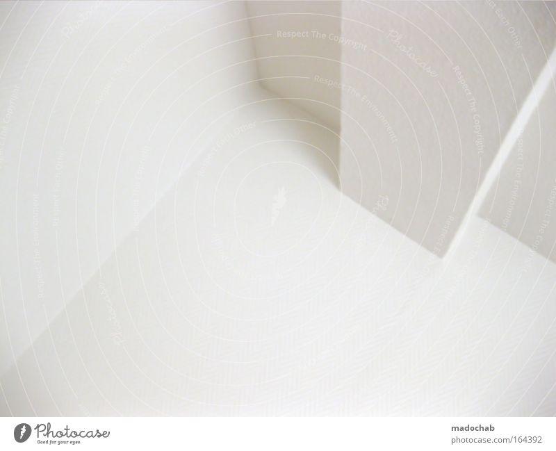 marqs weiß Ferne kalt Wand Mauer Kunst hell Zufriedenheit Fassade Ordnung Design modern ästhetisch authentisch neu trist