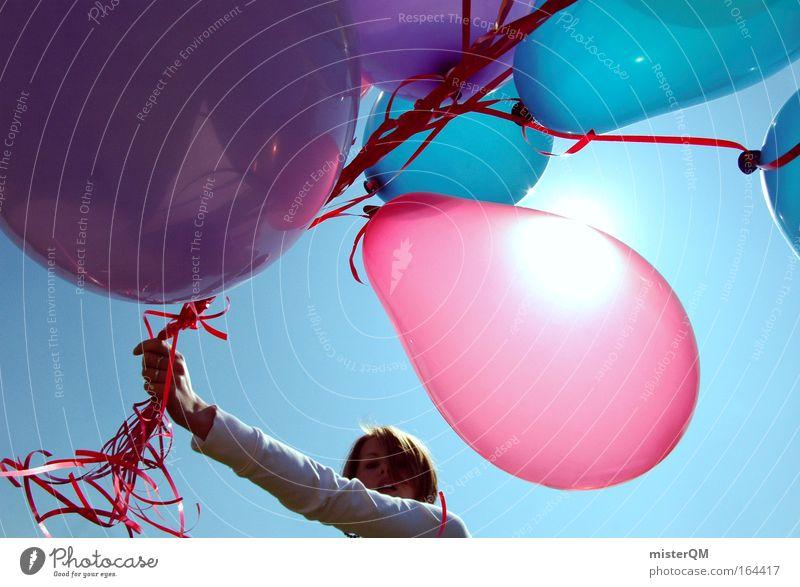 Viva La Revolution! Farbfoto mehrfarbig Außenaufnahme Experiment abstrakt Textfreiraum links Textfreiraum oben Tag Sonnenlicht Sonnenstrahlen Gegenlicht