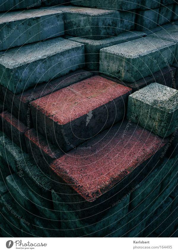stoned. Haus Arbeit & Erwerbstätigkeit Wand Berge u. Gebirge Stein Mauer Kunst Architektur Design Umwelt Beton Baustelle Turm Kultur Häusliches Leben