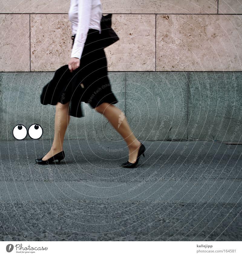 sexed up Frau Erwachsene feminin Stil Beine Mode Arbeit & Erwerbstätigkeit gehen elegant Schuhe Lifestyle Bekleidung Gesäß Rock Singapore Brust