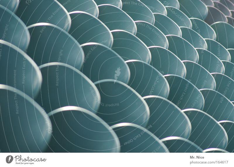 sit down Menschenleer Tribüne Stadion Strukturen & Formen Farblosigkeit Platz Sitzgelegenheit Sitzreihe hintereinander Detailaufnahme Symmetrie Wabe