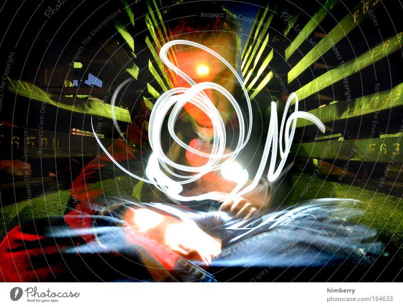 simsalabim Mensch Erwachsene dunkel Stil Kunst Energiewirtschaft maskulin Design verrückt Zukunft Industrie Show Kreativität fantastisch Wissenschaften