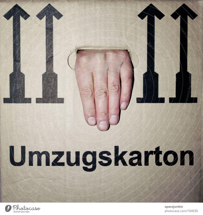 Umzug Hand Haus Innenarchitektur Freiheit Wohnung Häusliches Leben Dekoration & Verzierung Ausflug Finger Papier Umzug (Wohnungswechsel) Möbel Surrealismus