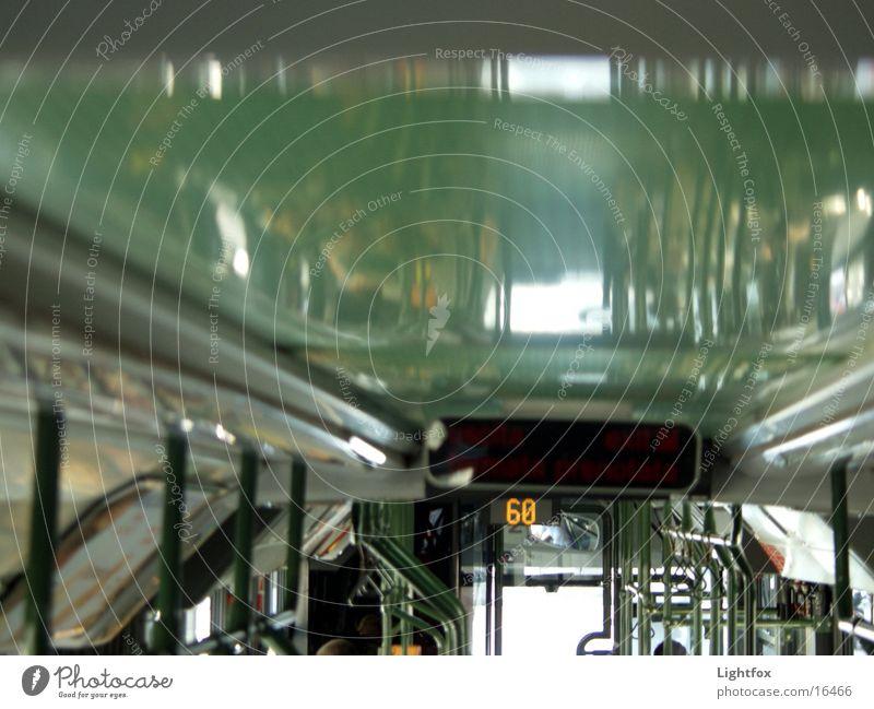Busdecke Mensch oben Verkehr Eisenbahn fahren Güterverkehr & Logistik festhalten Bus Digitalfotografie Acryl