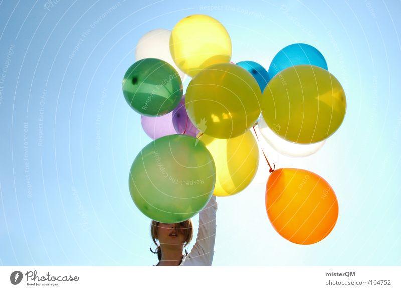 Flying Away. Sonne Freude Ferien & Urlaub & Reisen feminin Gefühle Stil Party Glück Feste & Feiern Tanzen Horizont Ausflug Design Erfolg verrückt planen