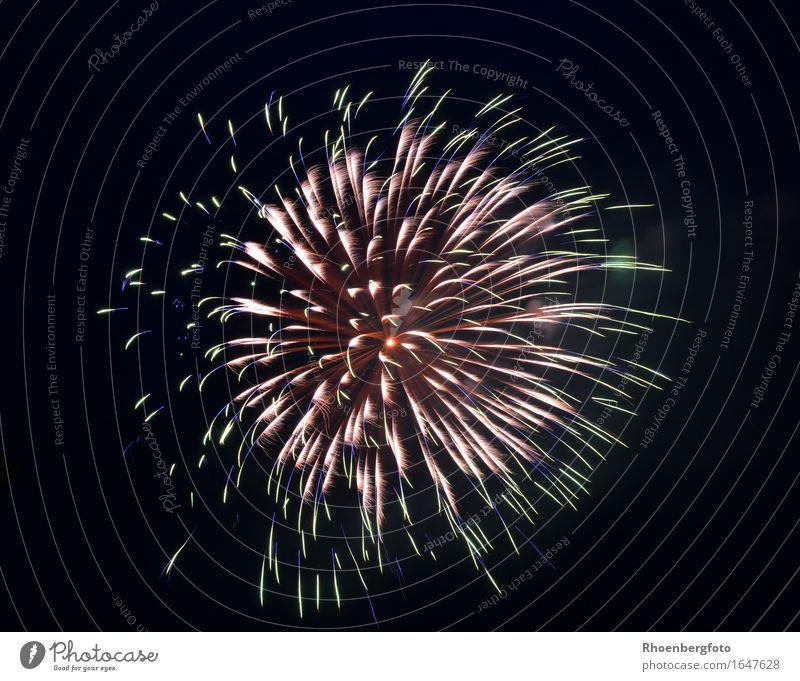 Feuerwerk Freizeit & Hobby Nachtleben Party Veranstaltung Feste & Feiern Oktoberfest Silvester u. Neujahr Jahrmarkt Hochzeit Show Zeichen Ornament glänzend