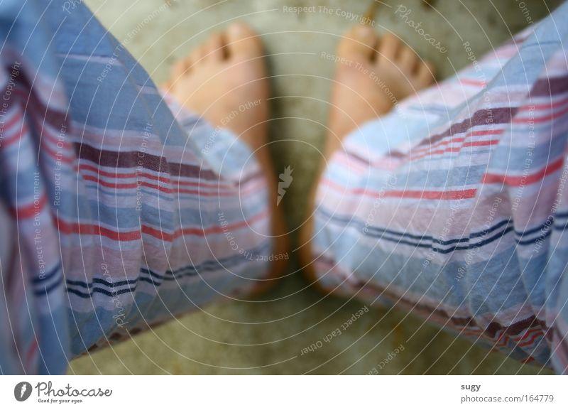 sunday morning Mensch Frau Mann Ferien & Urlaub & Reisen ruhig Erwachsene Leben Glück Denken Beine Fuß Fröhlichkeit stehen lernen schlafen Bekleidung