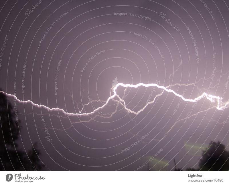Blitz... Licht – und wieder dunkel! Natur hell Wetter Energiewirtschaft Elektrizität Blitze Gewitter Unwetter grell Donnern zappeln