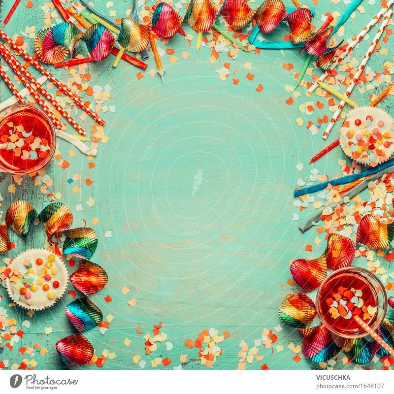 Party Hintergrund Ferien & Urlaub & Reisen rot Innenarchitektur Stil Lifestyle Feste & Feiern Design Dekoration & Verzierung Ernährung Geburtstag Tisch Zeichen