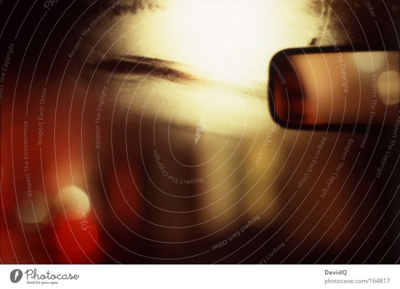 flash back rot Ferien & Urlaub & Reisen PKW braun fahren Spiegel Warmherzigkeit feucht Lust Autofahren Fahrzeug Dunst Windschutzscheibe beschlagen Rückspiegel