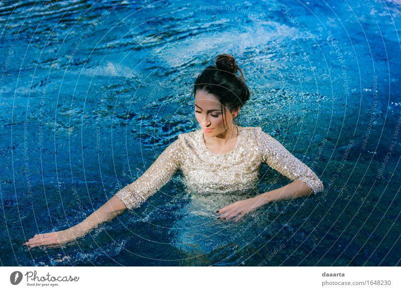 Meerjungfrau schön Erotik Freude Leben Gefühle feminin Stil Lifestyle Spielen Schwimmen & Baden Stimmung wild Häusliches Leben Freizeit & Hobby elegant